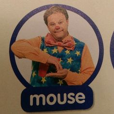 Mouse - Makaton / Sign / Mr Tumble / Something Special Sign Language For Kids, Sign Language Words, Makaton Printables, Makaton Signs, Mr Tumble, Eyfs Classroom, Childcare, Preschool, Kindergarten