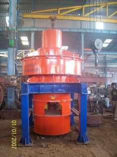 ECOMAN from Vadodara, Gujarat (India) is a manufacturer, supplier and exporter of VSI Crusher at reasonable price. Tube
