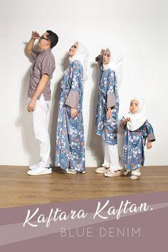 Modest Fashion Hijab, Casual Hijab Outfit, Fashion Outfits, Fashion Couple, Kids Fashion, Baju Couple Muslim, Moslem Fashion, Batik Fashion, Modest Wear