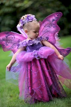 Adorable Lilac Fairy! Costume by EllaDynae in her Etsy store