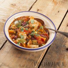 Heerlijk pittige visstoof in tomaat | Fish stew in tomato