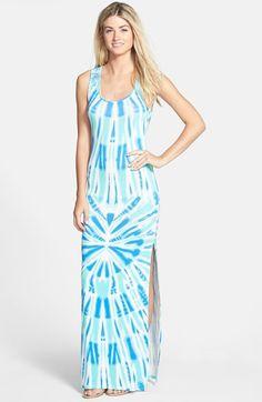 FELICITY & COCO Crochet Back Tie Dye Maxi Dress (Regular & Petite) (Nordstrom Exclusive) | Nordstrom