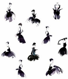 audrey http://2.bp.blogspot.com/_R3pXQKzRHg8/SlmM5qt0KmI/AAAAAAAAAT8/kmuDVBxkDw0/s400/audrey-hepburn-the-little-black-dress-illustration.jpg <3