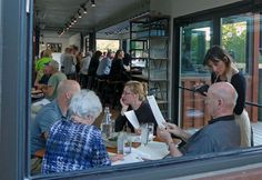 Largest in US Resatuarant Built with Recycled Shipping Containers -Smoky-Park-Supper-Club-Asheville-NC