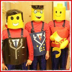 DIY: Lego Kostüm zum Fasching - coolest handmade lego man costume