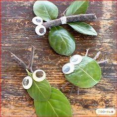 Kids Crafts, Leaf Crafts, Summer Crafts, Toddler Crafts, Preschool Crafts, Fall Crafts, Arts And Crafts, Paper Crafts, Forest School Activities