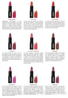Rossetti TNS Cosmetics: Lipstick Collection - Nuvole di Bellezza