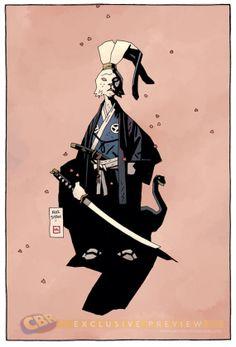 Usagi Yojimbo por Mike Mignola