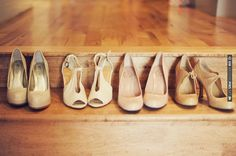 light brown, nude, cream colored shoes | CHECK OUT MORE IDEAS AT WEDDINGPINS.NET | #weddingshoes