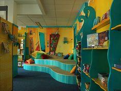 School library in Hamburg, Germany by Mareike Scharmer