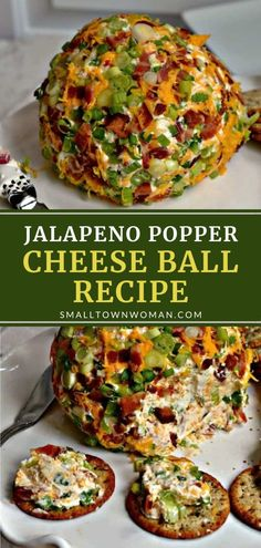 Appetizer Salads, Easy Appetizer Recipes, Yummy Appetizers, Appetizers For Party, Cheese Ball Recipes, Poppers Recipe, Balls Recipe, Low Carb Sauces, Tailgate Food