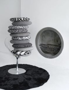 Black + White, the new fabric & wall covering collection from Clarke & Clarke.
