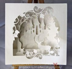 The other side of me : Crafty SVG Designs 3D layered christmas card - Snapdragon Snippets