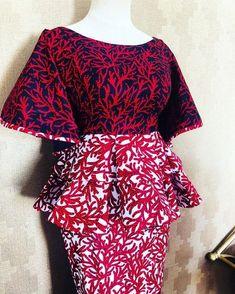 African Fashion Ankara, Latest African Fashion Dresses, African Print Fashion, African Dresses For Kids, African Lace Dresses, Ankara Styles For Women, African Blouses, Ankara Skirt And Blouse, African Traditional Dresses