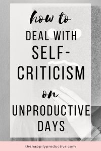 Struggling with self-criticism on unproductive days? Discover 5 tips to accept when you're not feeling productive (it's okay! Negative Self Talk, Negative Thoughts, Career Quotes, Success Quotes, Relationship Quotes, Motivational Quotes, Inspirational Quotes, Quotes Quotes, The Answer To Everything