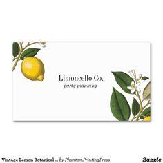 Vintage Lemon Botani