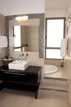 Sunken Bathtub Design, Pictures, Remodel, Decor and Ideas - page 13