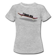 ...auch das weibliche Geschlecht liebt sein Board...  https://shop.spreadshirt.de/DaiSign/frauenshirt+%22i+love+my+board%22-A106229556?appearance=231  #Longboard #Skateboard #Snowboard #Board #longboarding #skateboarding #snowboarding #Shirt #TShirt #Spreadshirt #DaiSign