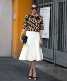 Leave it to Jenna Lyons to declare that leopard is a neutral and totally change the game when it comes to pattern-mixing. In the '90s, wearing this bold animal print was not a pretty sight (think spandex dresses, barely-there tank tops, and hoodies), but now, there's no need for cat calls, it's