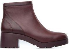 Camper Wanda K400057-004 Boots Women. Official Online Store USA. Burgundy  BootsBoots 2016Women's Ankle ...
