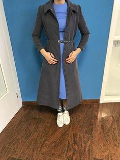 Coat dress in Grey door BYMPM op Etsy