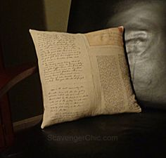 Mom's Letters Pillow