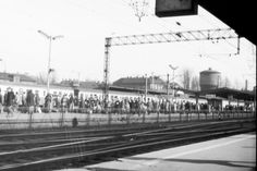 Poland, Cracow railway station 1980 http://www.administrator24.info/