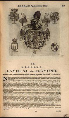 204. 1546, 21st chapter of the Order, Utrecht; Lamoral d'Egmont, Prince de Gavre (1522-1568).