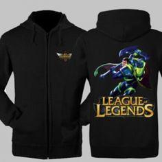 Bioforge Darius League of Legends hoodie for men The Hand of Noxus plus size sweatshirt
