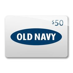 $50 Old Navy GC (Amazon substituted if no Old Navy near them) #Giveaway Open WW