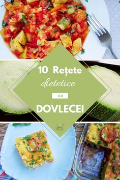 10 retete dietetice cu dovlecei Bacon Recipes, Diet Recipes, Recipies, Romanian Food, Curry, Food And Drink, Pizza, Vegetables, Cooking