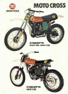 1978 Montesa Cappra Brochure