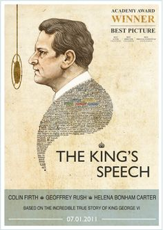 The King's Speech...one of my favorite movies ever!