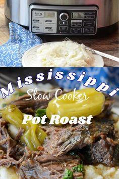 Sausage Recipes For Dinner, Fall Dinner Recipes, Pot Roast Recipes, Baked Chicken Recipes, Mississippi Pot Roast, Mississippi Chicken, Pantry Essentials, India Food, Easy Casserole Recipes