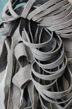 fabric manipulation (leather)