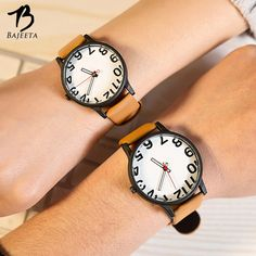 >> Click to Buy << BAJEETA Cute Number Style Lovers Watch Student Fashion Sport Leather Quartz Men Women Watches Analog Wristwatch Hot Sale Clock #Affiliate