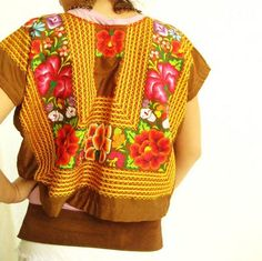 Aida Coronado: Start Traveling with your clothes Mexican Huipil Tehuana