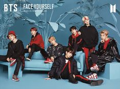 "K-pop boy band BTS released their third Japanese album ""Face Yourself"" today (April Poster Love, Bts Poster, Foto Bts, Bts Photo, Billboard Music Awards, Btob, Bts Boys, Bts Bangtan Boy, Guinness"