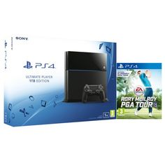 Sony PlayStation 4 1TB - Includes Rory McIlroy PGA Tour