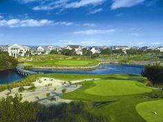 Hole #16 at Bald Head Island Club golf course #baldheadisland #ncgolf