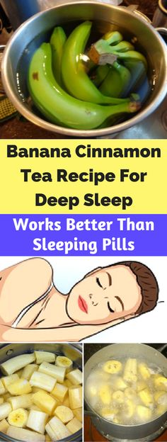 The Banana Cinnamon, Tea Recipe For Deep Sleep!!!! - All What You Need Is Here
