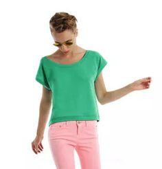 Ladies` Summer Sweat short-sleeved - http://www.reklaamkingitus.com/et/pusad-dressipluusid/68930/Ladies%60+Summer+Sweat+short-sleeved-PRFR000553.html