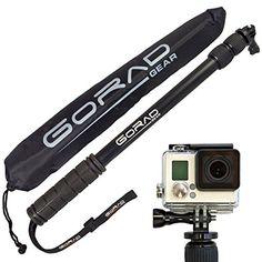 "GoPro Selfie Stick - Waterproof Telescoping Extension Pole for Hero 4 / 3+ / 3 / 2 / 1 Cameras - Aluminum Tripod Mount & Thumb Screw - Monopod Extends 17"" - 40"" - Nylon Carry Bag - Lifetime Guarantee GoRad Gear http://www.amazon.com/dp/B00M2A9H8C/ref=cm_sw_r_pi_dp_xeWVvb0229NG6"