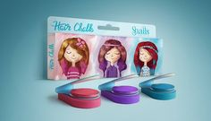 Snails hair chalks are finally here!! More new Snails cosmetics to add to your collections :^P