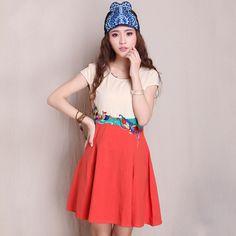 Modern Chinese Style Dress - Modern Chinese Qipao Dress: Miss Butterfly $49.99 (37,66 €)