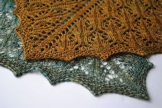 Yorkshire Shawl by Judy Marples by spinnyknitter2, via Flickr