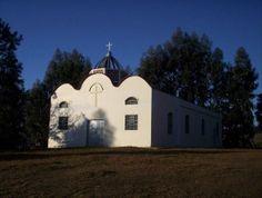 Igreja ucraniana da comunidade de Paiol Velho, em Ivaí