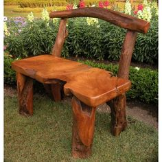 Groovystuff Alpine Wood Bench