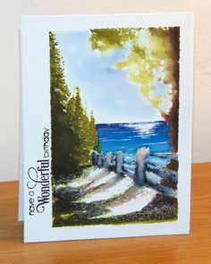 Hidden Lane by Micheline Jourdain - Cards and Paper Crafts at Splitcoaststampers
