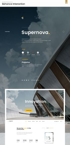 Supernova | Multi-Concept Construction PSD Template is a corporate template designed and developed particularly for Construction, Building and Architecture companies or those with similar services after long and thorough research of real Construction Company websites